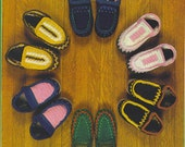 On SALE 15% off - PATTERN - Instant Download - Slippers - Foot Warmers for the whole family -PATTERN - St. Nicholas Day