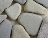 Pale Lavender/Grey Beach Pottery - 10 Pieces - Mosaic Craft Supply