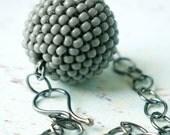 Wrap Bead and Bones Necklace - london underground