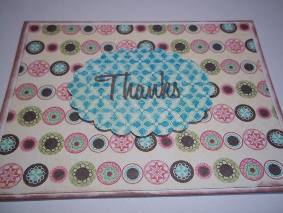 Thank You Card Set, Note Cards, Handmade Thank You Notes, Card Set, Thank You Greetings, Card Set