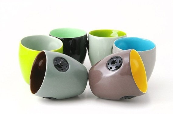 snap cups -- set of 6