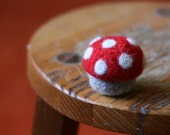 PATTERN- PDF Crocheted and Felted Mushroom Keepsake Box Pattern