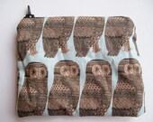 owl coin purse with zipper
