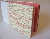 Cream and Pink Plum Blossom Album - HOLD FOR EMILY