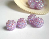 5 Disco Ball Beads