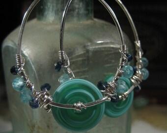 Tutorial -Bejeweled Hoop Earrings