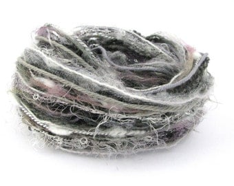 Creative Yarn Variety Pack, Classy Greys, 30 metres, gray grey mist fog inspiration, mixed fibers