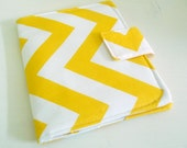 Nook Simple Touch Cover - Yellow and White Chevron