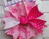 Boutique Pink Ballet Spike Hair Bow