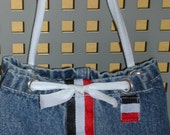 PIF Pay It Forward Repurposed Blue Jeans Baby Gear for on the Go