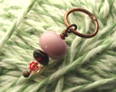 Pink and Red Stitch Marker