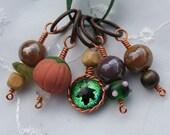 Autumn Stitch Marker Set