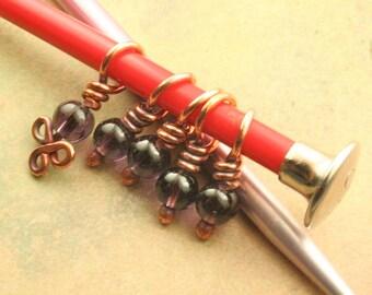 Great Grapes Stitch Marker Set