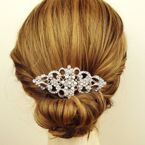 Wedding Vintage Style Hair Accessories: Items Similar To Victorian Style Bridal Hair Comb