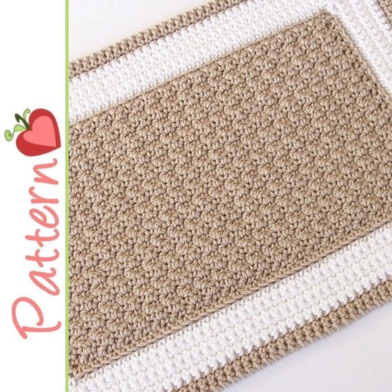 Rectangle Rug Crochet Pattern pdf A Quick to Stitch Project