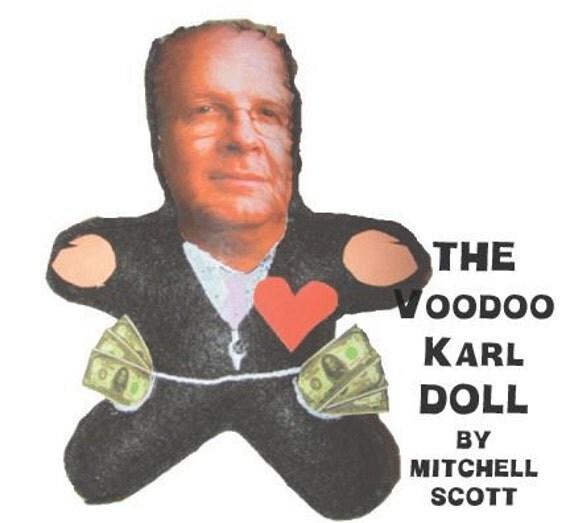 The Voodoo Karl  Doll