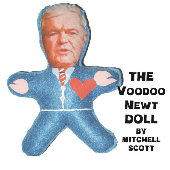 The Voodoo Newt Doll