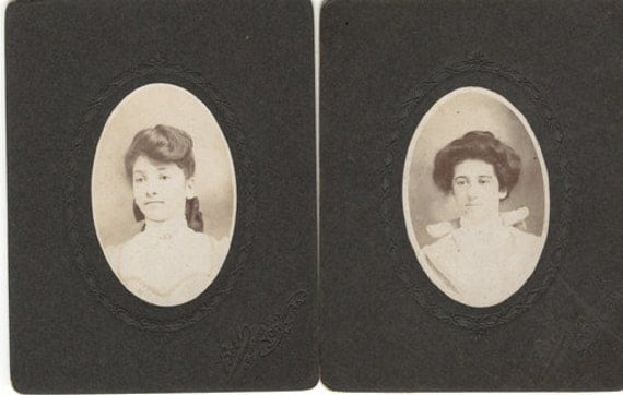 Gibson Girl Two Pack photo lot