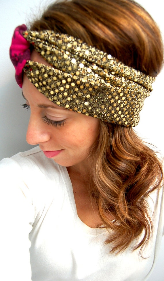 New Years Eve Bash Sequin Sparkle Turband/headband by ...