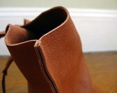 10in Wedge tote - Butterscotch