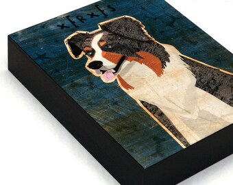 Gift for Husband- Dad- Gift for Wife- Mens Personalized Dog Art- Pick Your Pooch Art Box- Dog Wall Decor- Gifts for Grandma
