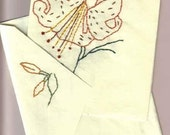 Handmade Embroidered Note Cards