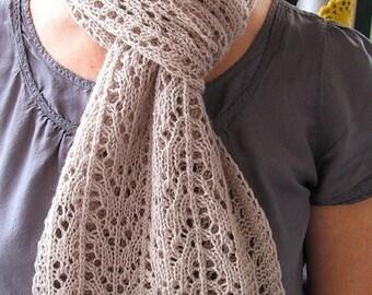 Anita Caroline Lace Scarf Knitting Pattern