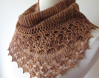 Streusel Lace Scarf Knitting Pattern