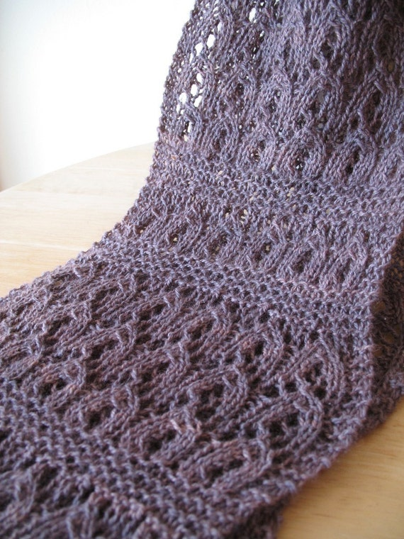 Honeybunch Lace Scarf Knitting Pattern