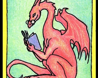 Red Dragon Bookplates