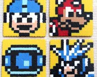 8-Bit MegaMan Coasters