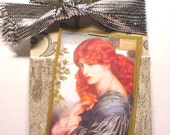 Red Headed Stranger-Art Collage Extra Gift Long Tag