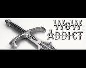 WoW Addict Bumper Sticker for Gamer