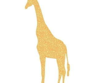 Giant Giraffe Wall Graphic