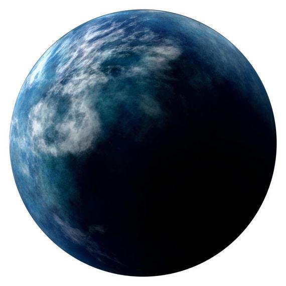 Alien Earth Planet Wall Decal