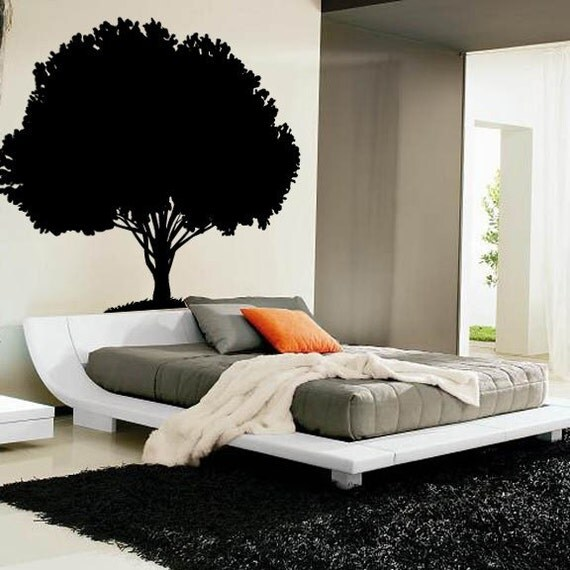 Enormous 70 inch tall Tree Vinyl Wall Decal