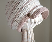 Soft cotton nautical inspired hat - Harbour -