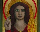Mary Magdalene Plaque