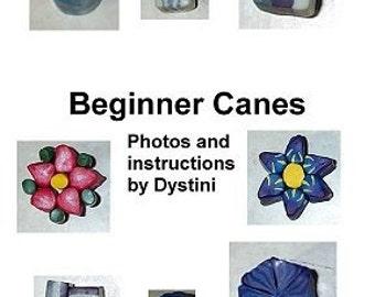Tutorial Beginner Canes Polymer clay ebook by Dystini
