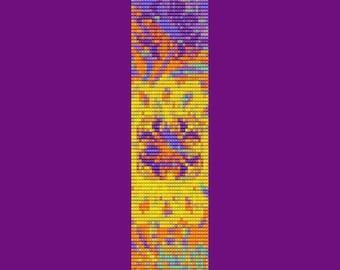 Summer Garden Bracelet Bead Pattern LOOM