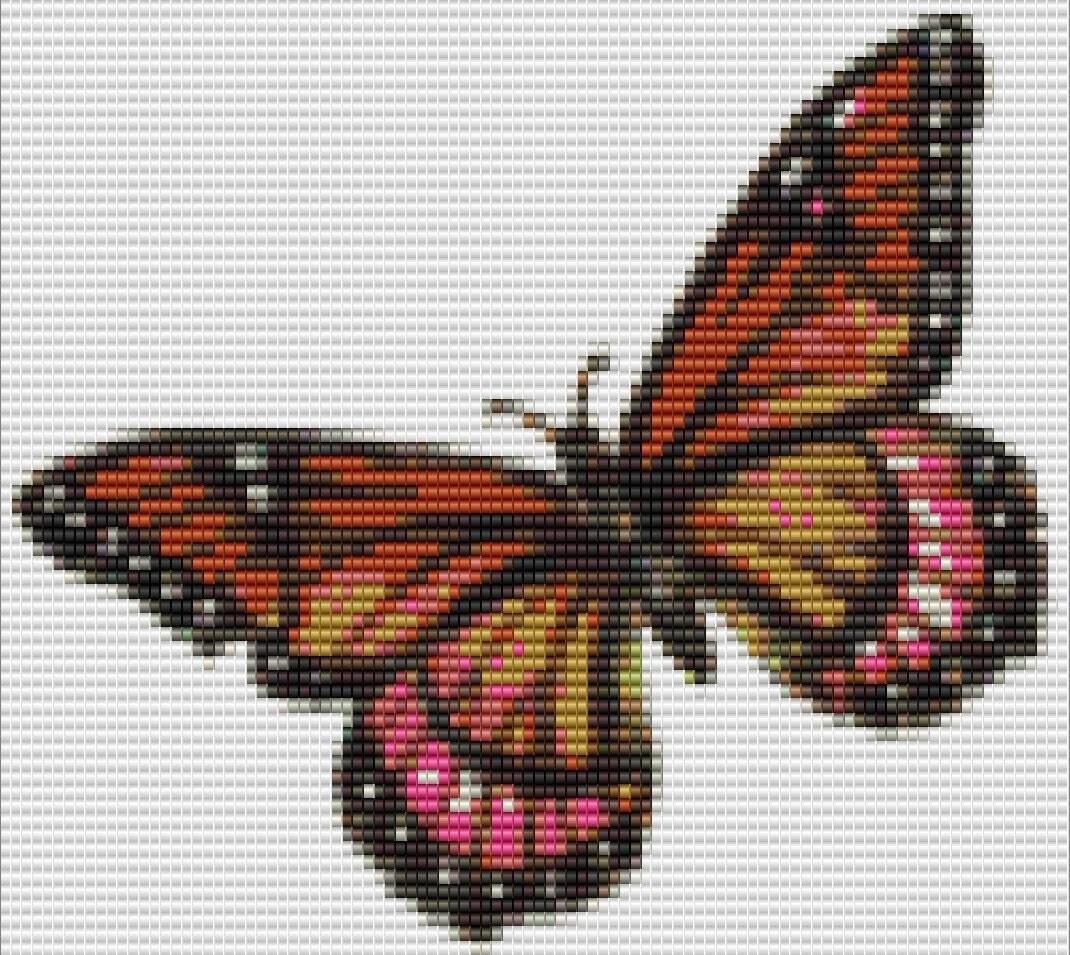 monarch butterfly bead pattern