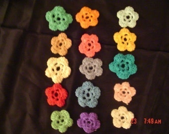 Crocheted Flower Garden