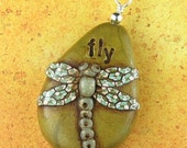 FLY dragonfly pendant