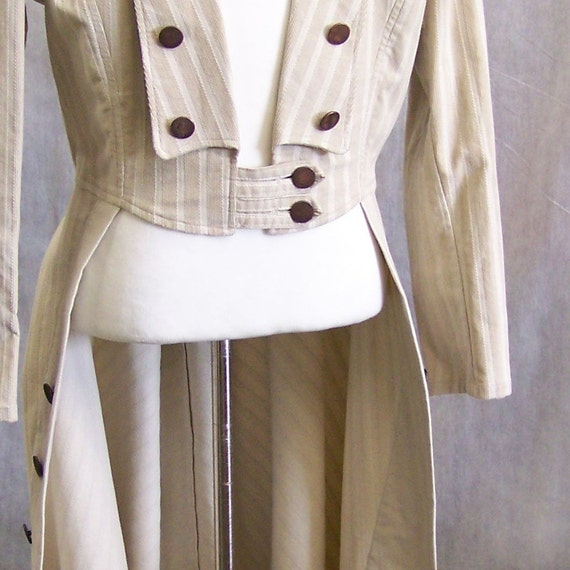 Frock coat, wedding tux, steampunk or opera coat