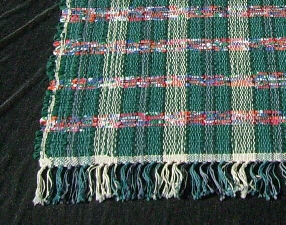 rag rug runner Color my World