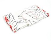 red blad wallet