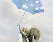 Fine Art Print: Hold On Mr. Squirrel