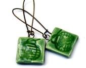 Japenese Lantern Earrings Handmade