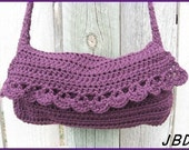 PATTERN Crochet Tangle Sampler Purse Instant Download