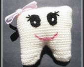 PATTERN Crochet Tooth Fairy Pillow Instant Download